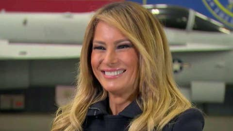 First lady says media should lay off son