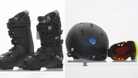 THE high-tech winter sports gear