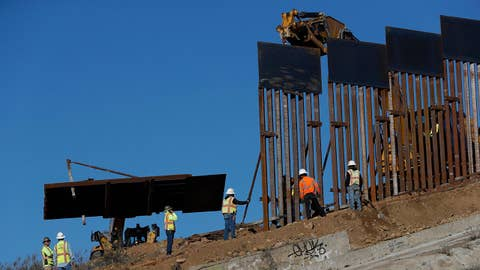 Why have Dems ditched the border wall?