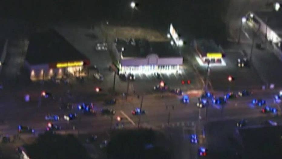 Police officer shot in the line of duty in Georgia