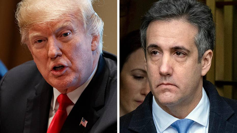 Is Michael Cohen out to take down President Trump?