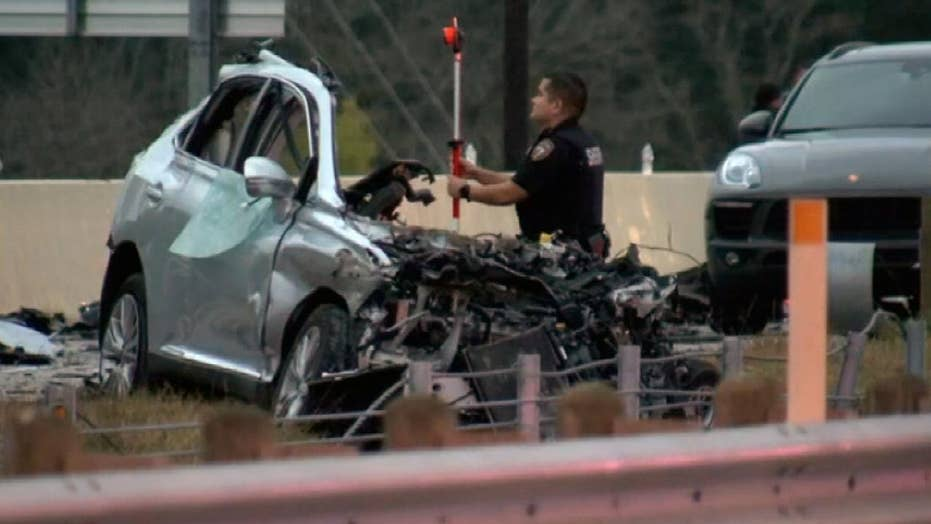 Man accused of causing horrific car crash that killed retired Marine