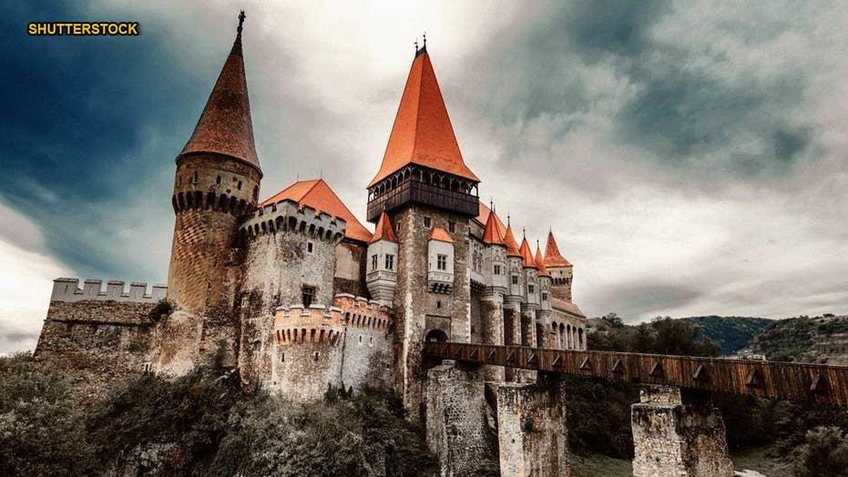What lies beneath castle that imprisoned 'Dracula'?