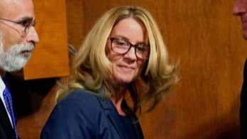 Why wasn't leak of Blasey Ford's letter investigated?