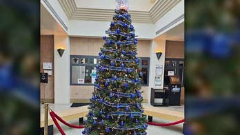 Indiana county honors fallen officers with Christmas tree