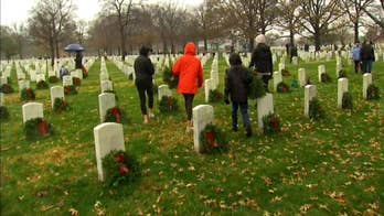 Inspired volunteers help with 'Wreaths Across America'