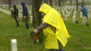 Over one million volunteers help Wreaths Across America