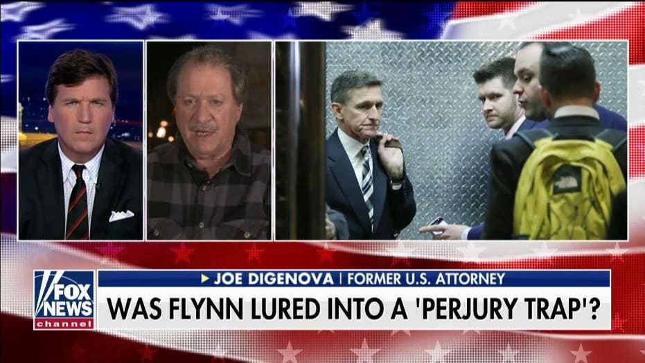 Joe DiGenova Slams Feds Investigation of Flynn