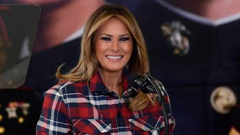 First lady Melania Trump unveils White House restoration projects before state visit