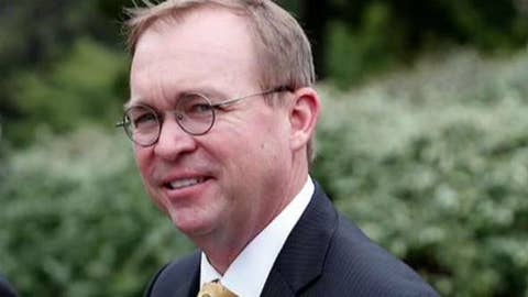 Does Mick Mulvaney make a government shutdown more likely?