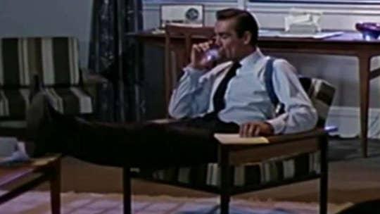 Is James Bond an alcoholic?