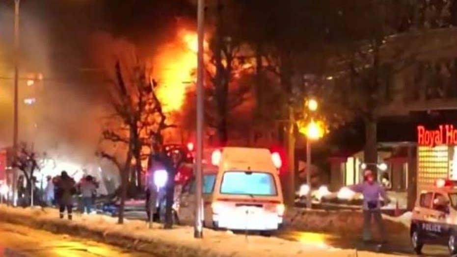Dozens injured in explosion at restaurant in Japan