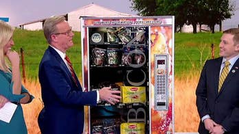Bacon vending machine serves up favorites on 'Fox & Friends'