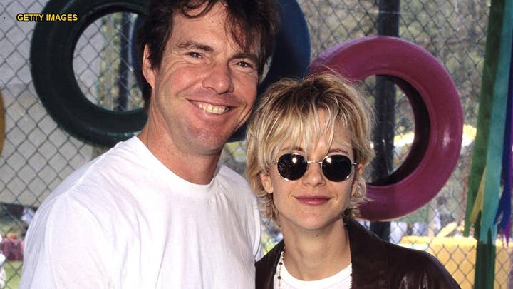 Dennis Quaid's first big gift splurge was for Meg Ryan