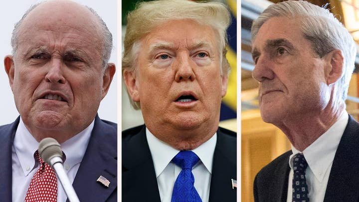 Giuliani: 'Over my dead body' will Trump meet with Mueller