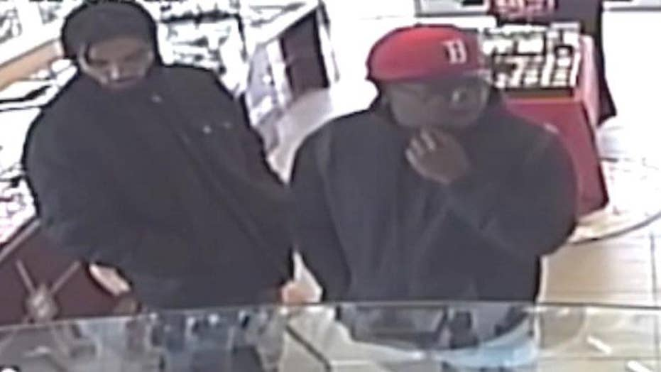 Attempted robbery at California jewelry store