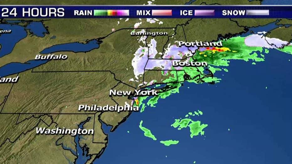 National forecast for Monday, December 17