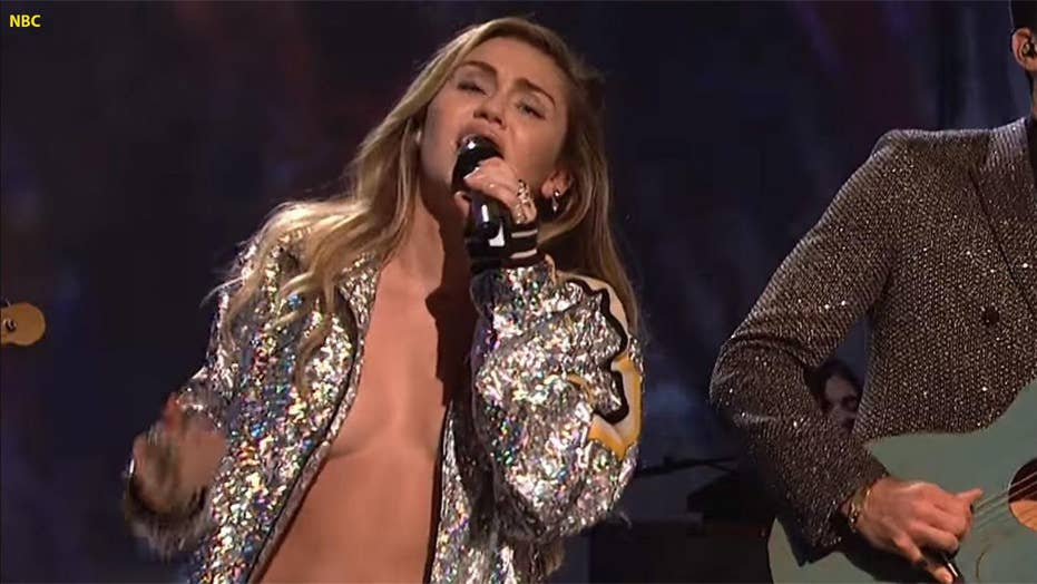 Miley Cyrus' risqué 'Saturday Night Live' outfit