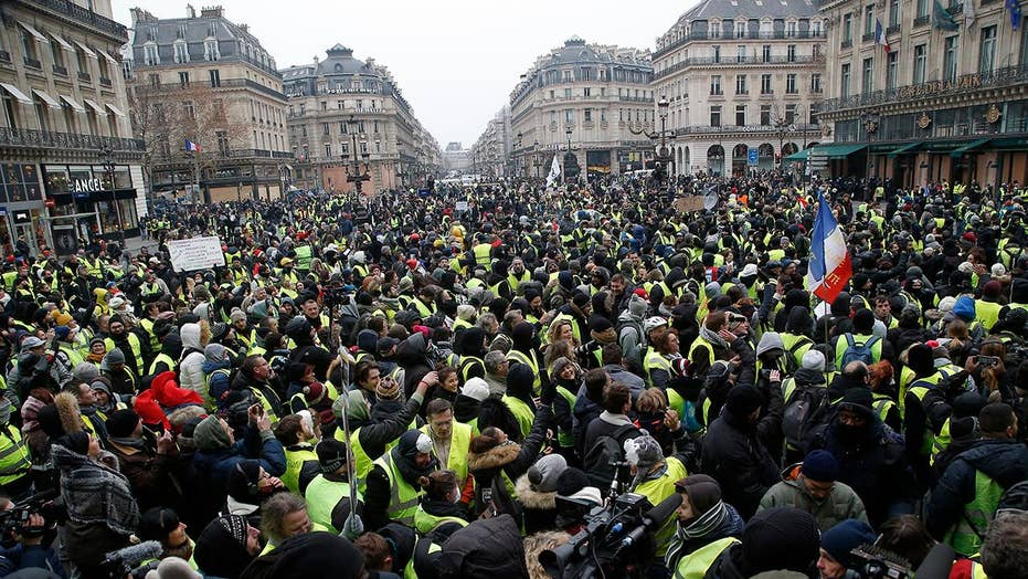 Protests continue in France notwithstanding concessions from Macron