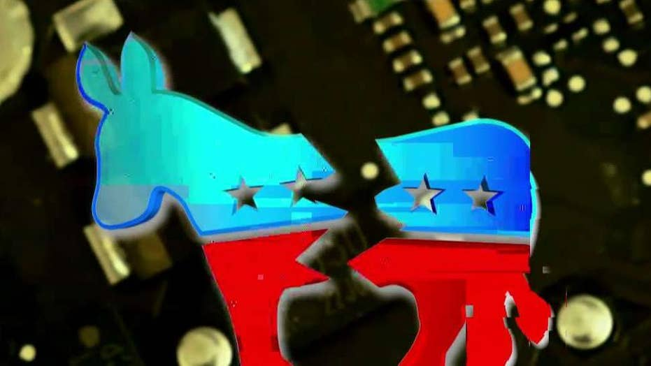 Democratic party at odds over voter data