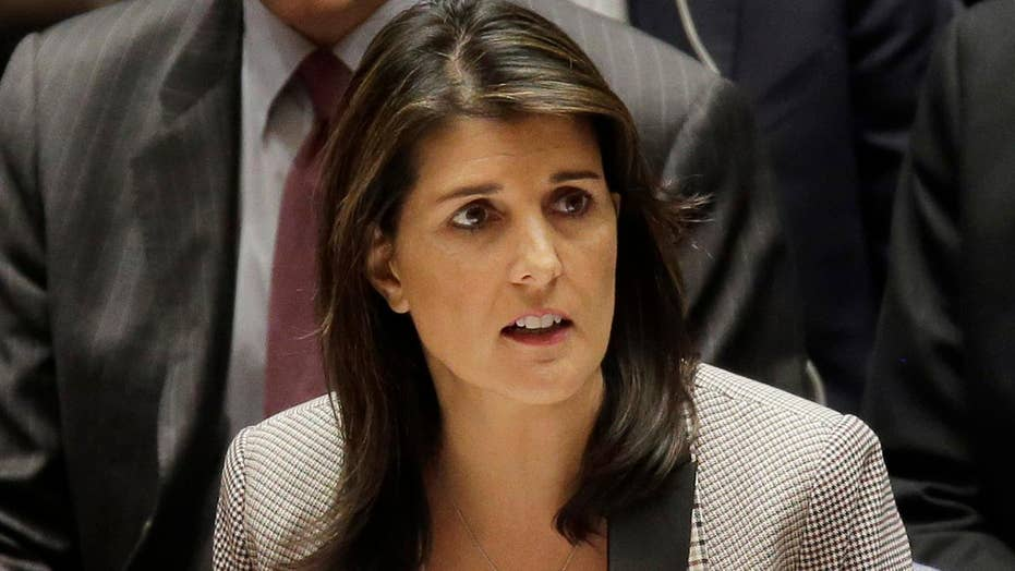 Haley attends final UN Security Council meeting