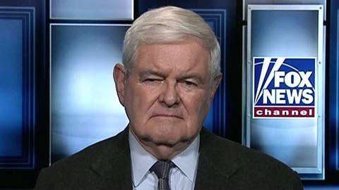 Newt Gingrich on the border funding battle on Capitol Hill