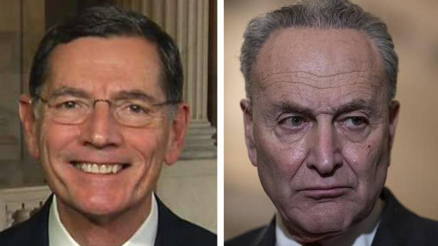 Barrasso: Schumer shut down the government earlier this year over illegal immigration, this could have been round 2