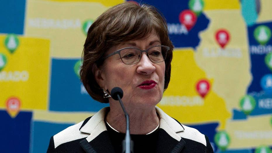 Sen. Collins received harassing voicemails ahead of Kavanaugh vote