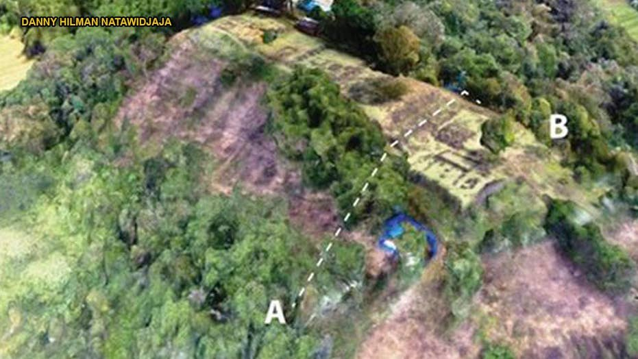 Secrets revealed behind Indonesian 'pyramid' hidden for thousands of years