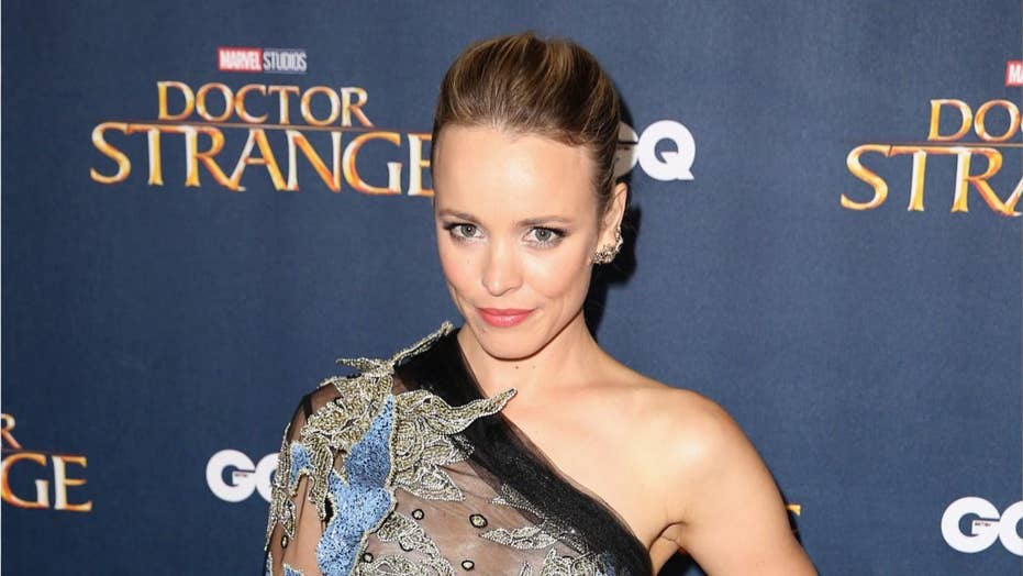 Rachel McAdams poses with breast pump in 'Girls Girls Girls' magazine shoot