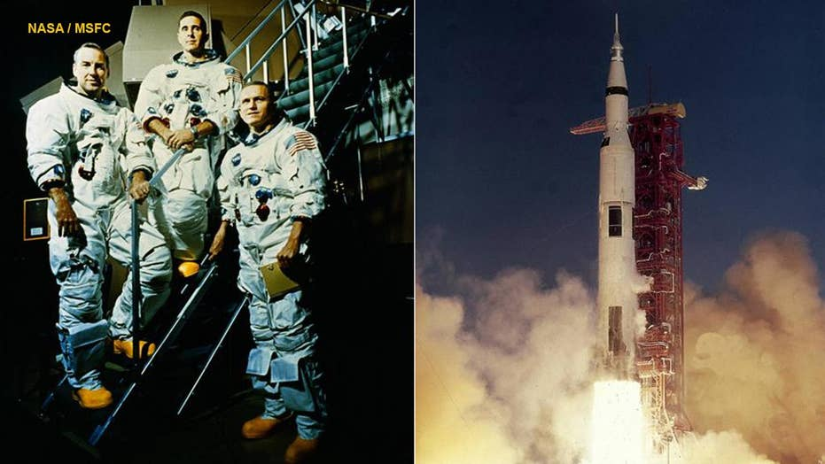 Apollo 8 astronauts Frank Borman and Jim Lovell recount NASA's epic first mission to the Moon