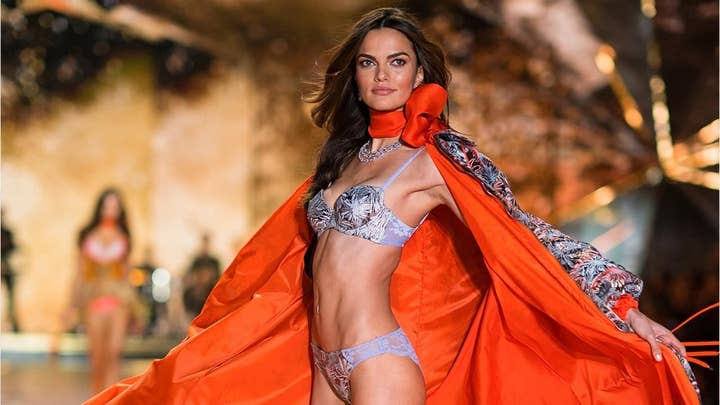 Victoria's Secret model Barbara Fialho explains why she cried after seeing her photos