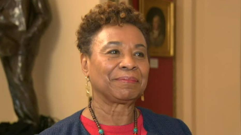 Democrat Barbara Lee siding with Trump to remove troops from Syria