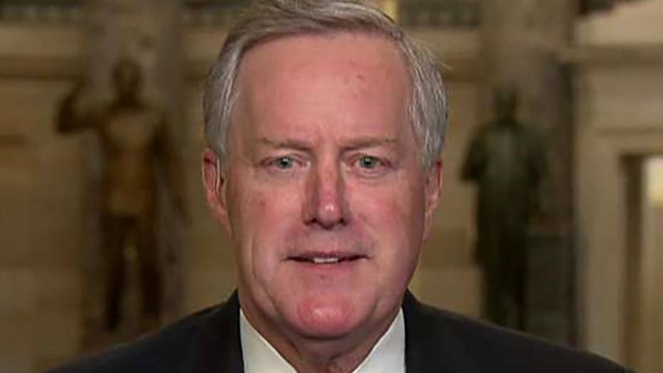 House Freedom Caucus Chair Rep. Mark Meadows leading the charge for President Trump to veto the stopgap spending bill