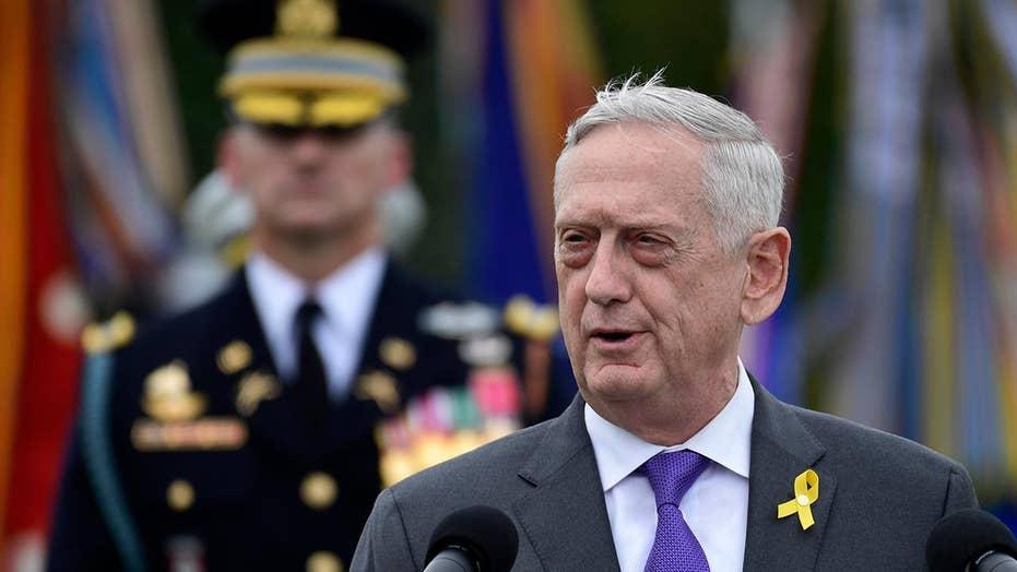Secretary of Defense General Mattis will be leaving the admi