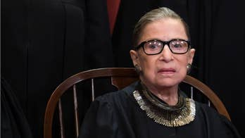 Ruth Bader Ginsburg's famous 'dissent' necklace sells out at Banana Republic before it even goes on sale