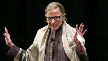 Ruth Bader Ginsburg says she's 'just fine' after health scares