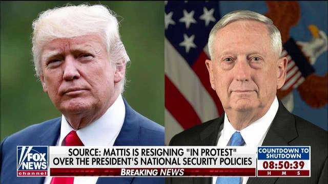 Griffin Reports on Mattis' Resignation: He Believes Syria Withdrawal Is 'Betrayal' of Kurds