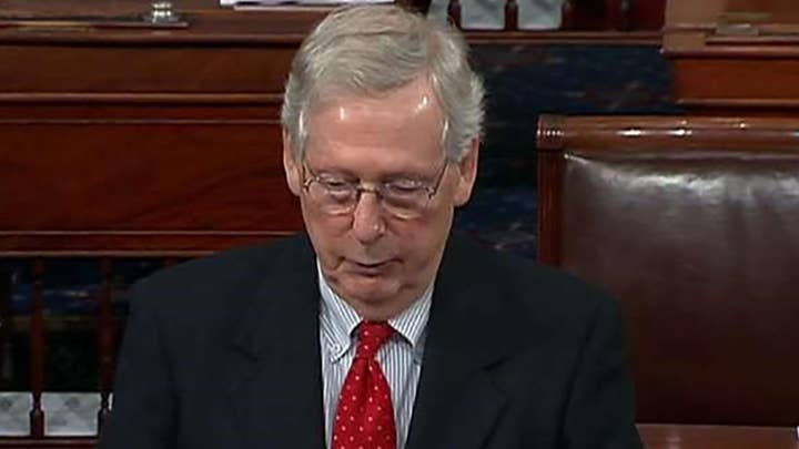Sen. McConnell: Let's pass funding for the border wall and secure our country