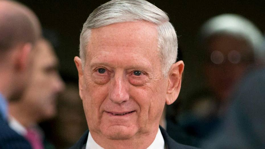 Defense Secretary James Mattis' resignation a protest of President Trump's national security policies, sources say