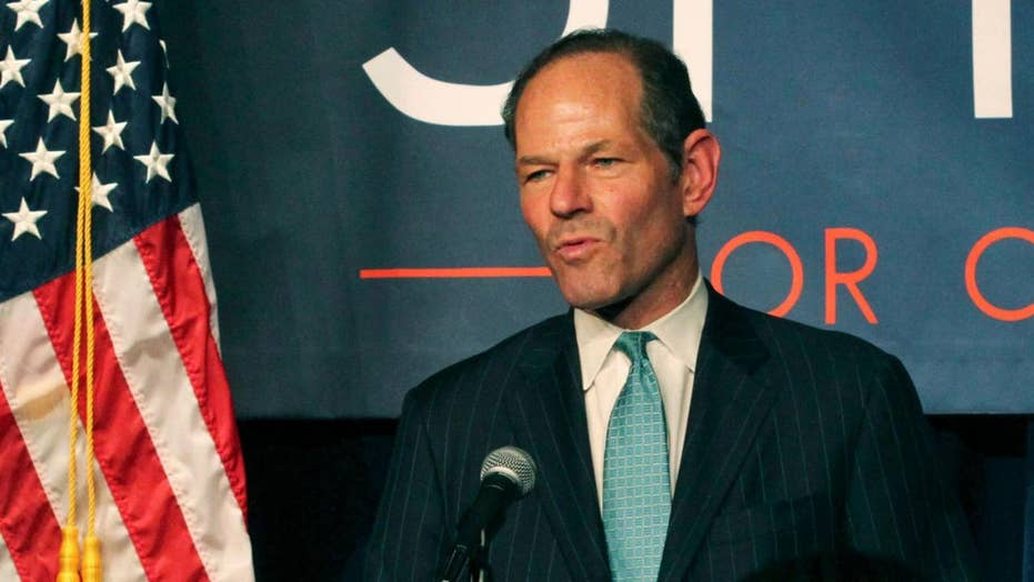 Ex-hooker claims former New York Governor Eliot Spitzer smuggled her into his home in a suitcase