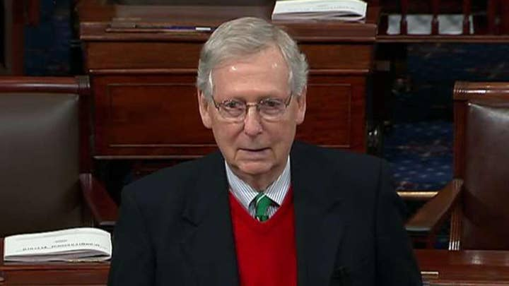 McConnell: A negotiated solution needs to have 60 votes in the Senate, a majority in the House and the president's signature