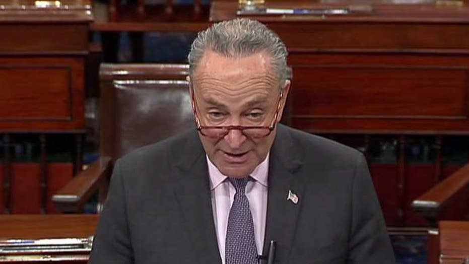 Sen. Chuck Schumer: We arrived at this moment because Trump has been on a destructive two-week temper tantrum