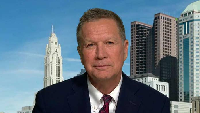 John Kasich says he sees 'no path' to challenging Trump in GOP primary