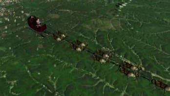 NORAD tracks Santa's Christmas flight as he delivers presents to boys and girls around the world