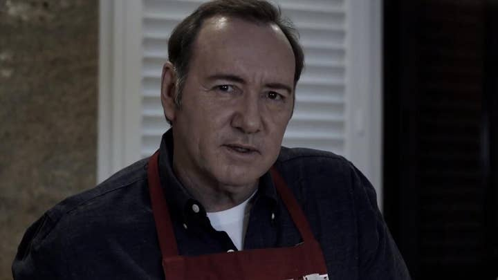 Kevin Spacey shares bizarre 'House of Cards'-inspired video as he faces felony sex assault charge