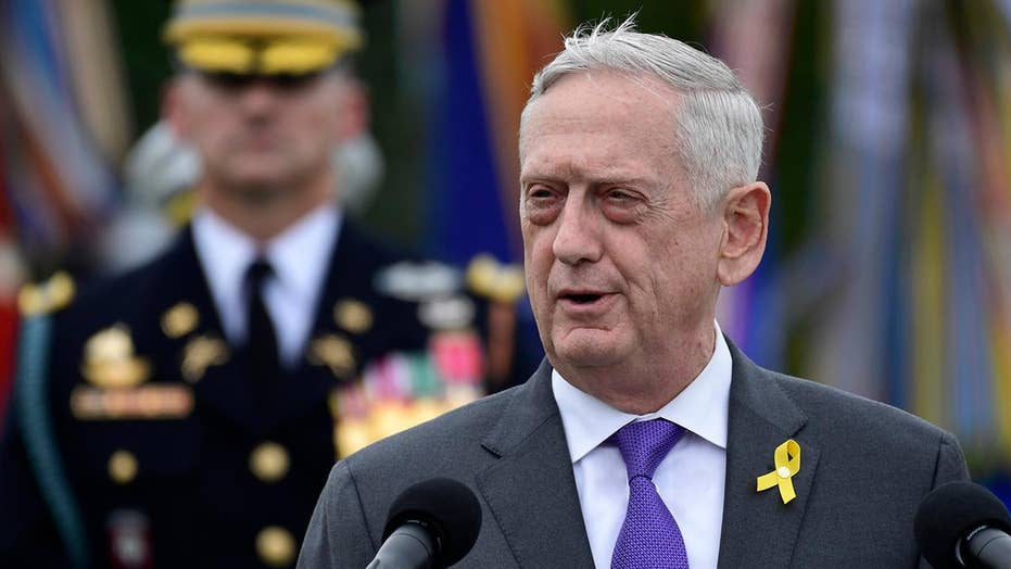 President Trump announces Defense Secretary James Mattis' resignation date is now Jan.1