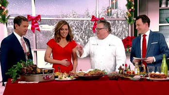 Festive feast: Chef David Burke shares last-minute ideas for the perfect Christmas meal