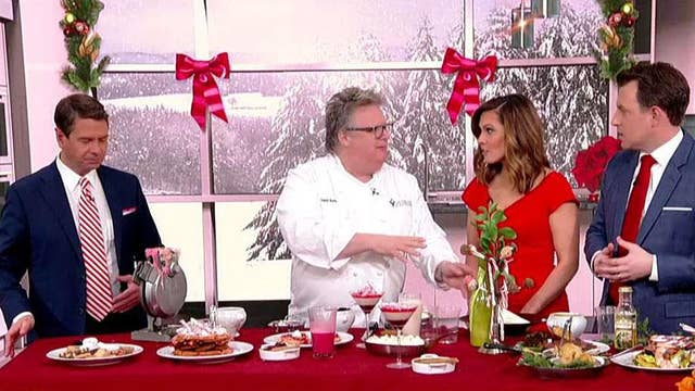 Celebrity chef David Burke shares last-minute Christmas dessert ideas