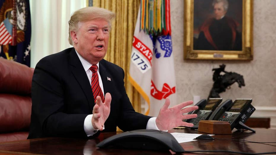 Trump says he hopes to have over 500 miles of renovated and new border fence by 2020 election